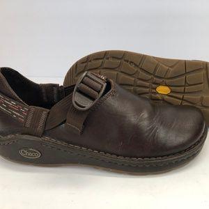 CHACO Pedshed Vibram Closed Toe Leather clogs shoe